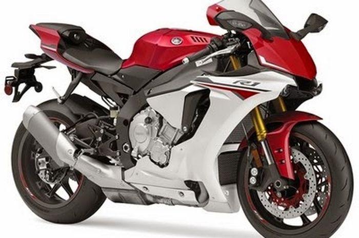 Ilustrasi Yamaha YZF-R1