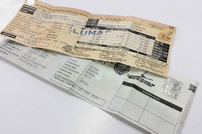 Tanpa PerluTunjukkanBPKB, KTP Dan STNK Asli TernyataBisa Bayar PajakMotor melalui online