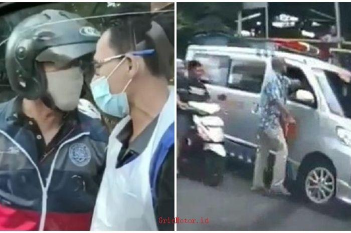 Miris, ambulans sering jadi sasaran kemarahan pemotor atau pengemudi mobil, sopir ditonjok sampai ditantang duel.