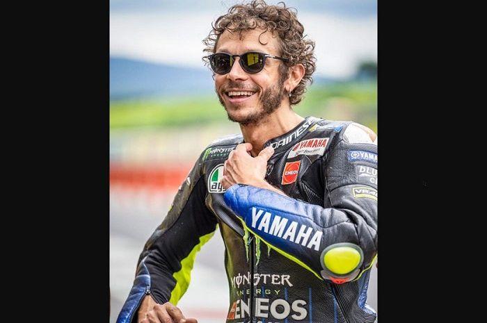 Ilustrasi. Valentino Rossi kangen berat MotoGP, sampai blak-blakan bilang begini.