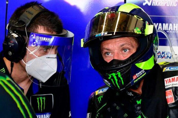 Berhasil lolos ke Q2 MotoGP Spanyol 2020 setelah terpuruk pada sesi FP1 dan FP2, pembalap Monster Energy Yamaha, Valentino Rossi buka suara.