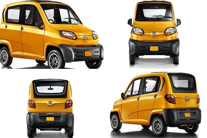 Gak kehujanan dan kepanasan pakai AC juga, kendaraan roda 4 bensinnya setara Yamaha NMAX, harganya terjangkau.
