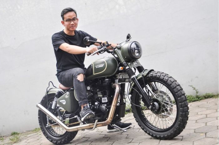 Siap Melawan PutraPresiden Jokowi Gibran Rakabuming Raka Jadi Wali Kota Solo, Ternyata Balon Independen Ini Bikers Juga.