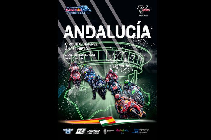 Ilustrasi. Masih sama di sirkuit Jerez, nama event MotoGP-nya berbeda sebelumnya MotoGP Spanyol, kali ini MotoGP Andalusia berlangsung akhir pekan ini, (26/7/2020)