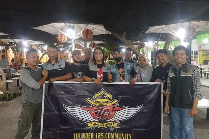 Komunitas motor Thunder Community Indonesia (TCI) Chapter Yogyakarta merayakan hari jadinya yang ke-12.