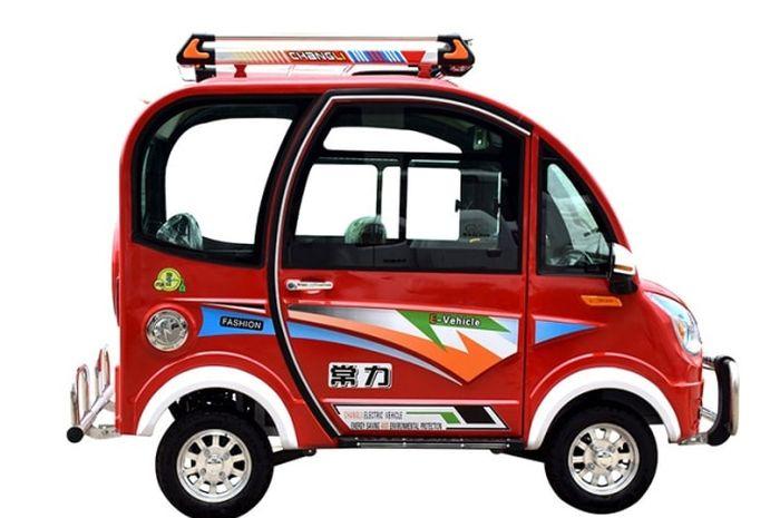 mobil listrik mungil Changli Nemeca