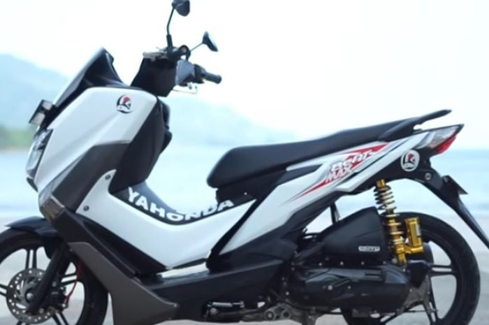 Launching Yahonda, hasil modifikasi Yamaha NMAX dan Honda BeAT