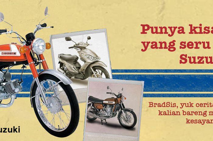 50 Tahun Suzuki Di Indonesia Ajak Masyarakat Nostalgia, Posting Motor Dan Kisah Suzukimu, Exclusive Merchandise Menanti