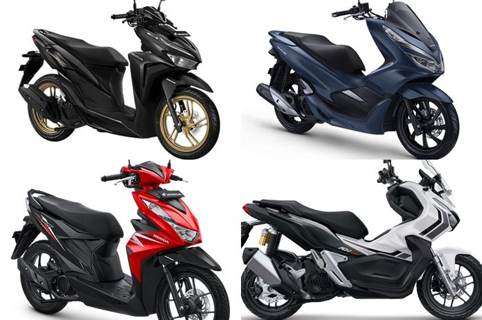 Segini harga motor matic Honda terbaru Agustus 2020.