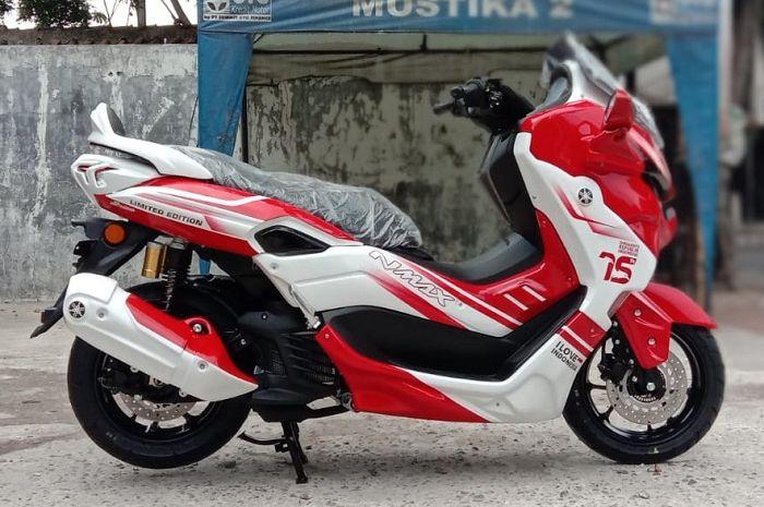 Yamaha All Newn NMAX Predator edisi HUT RI ke-75