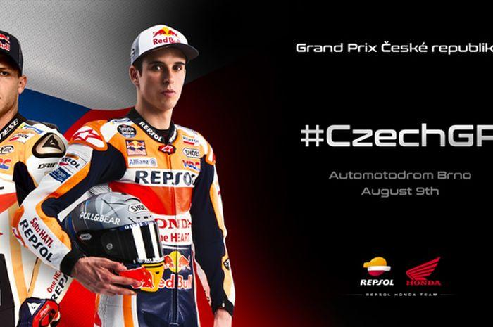 Marc Marquez dipastikan absen di MotoGP Ceko 2020, tempatnya digantikan Stefan Bradl yang jadi tandem Alex Marquez di sirkuit Brno akhir pekan ini
