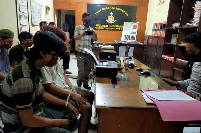 Empat maling motor di Tasikmalaya ditangkap polisi, salah satunya masih di bawah umur