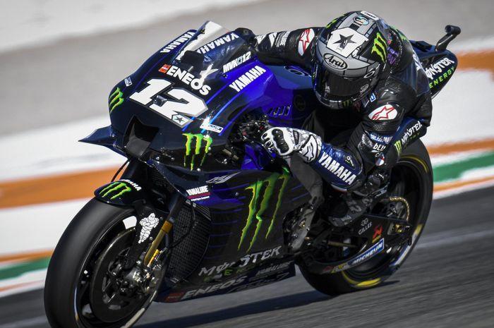 Jelang MotoGP Ceko 2020, rekan setim Valentino Rossi mau bikin rekor baru.