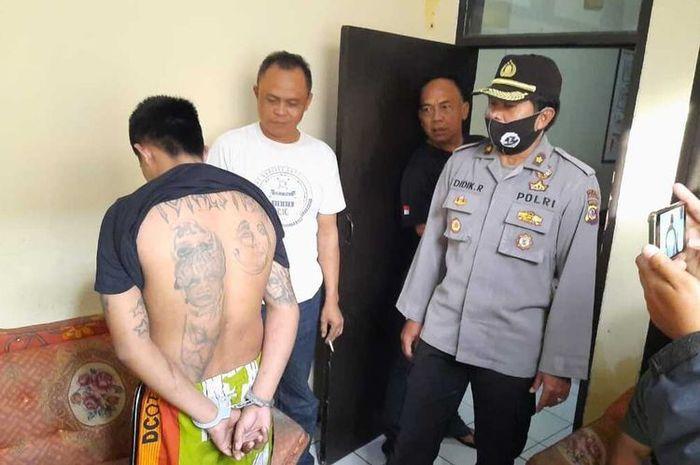 Pentolang geng motor Bogor berhasil ditangkap polisi di Tasikmalaya, gara-gara rayuan cewek