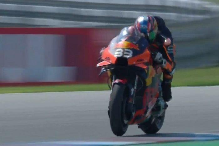 Hasil balap MotoGP Sirkuit Brno Ceko 2020, murid Valentino Rossi dibikin malu, KTM cetak sejarah.