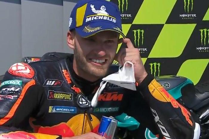 Hasil balap MotoGP Sirkuit Brno Ceko 2020, Brad Binder 'Ini adalah hari yang saya impikan'.