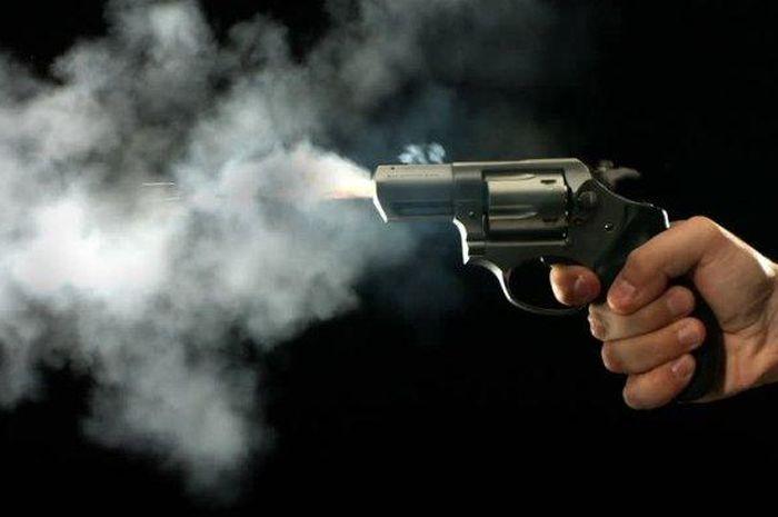 Ilustrasi penembakan