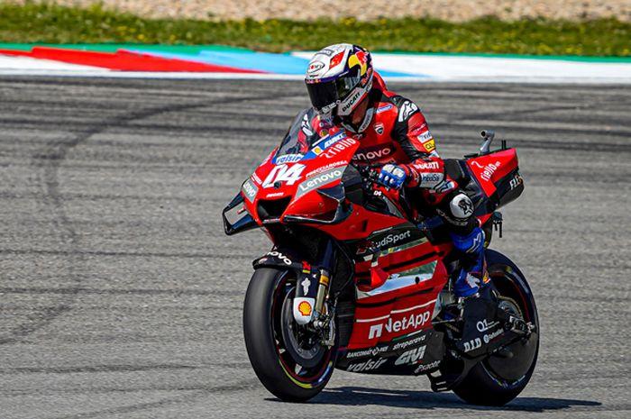 Live streaming MotoGP Austria, Ducati akan umumkan pembalap utamanya untuk MotoGP 2021, pilih Andrea Dovizioso  atau Johann Zarco?