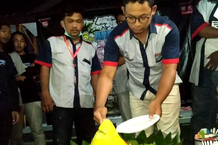 Komunitas Honda Wave Indonesia rayakan ulang tahun ke-6