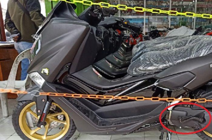 Geger Foto-foto Yamaha NMAX Pakai Kick Starter Mendadak Viral, Desain Bodi Sama Persis