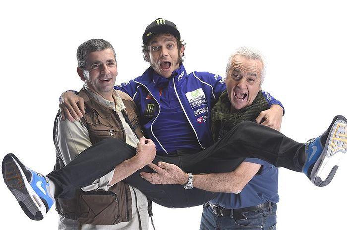 Orang dekatnya, Gigi Soldano meyakinkan bahwa pembalap tim Petronas Yamaha SRT, Valentino Rossi belum akan pensiun.
