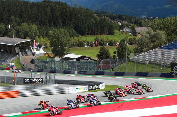 Sirkuit MotoGP Red Bull Ring Austria salah satu aneh bin ajaib di musim ini. Gelar 2 ronde MotoGP sekaligus dan banyak lagi aneh bin ajaib di MotoGP 2020 lainnya