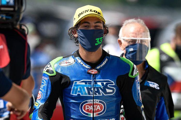 Ditinggal Andrea Dovizioso, Ducati incar pembalap Moto2, Enea Bastianini