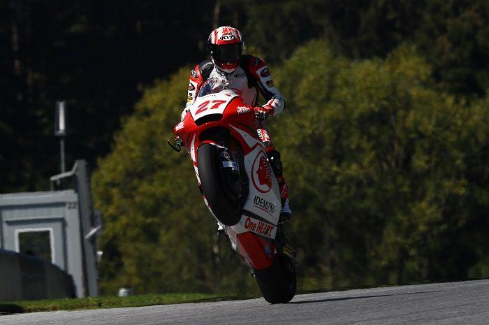 Target pembalap Indonesia, Andi Gilang masuk Q2 Moto2 Styria 2020