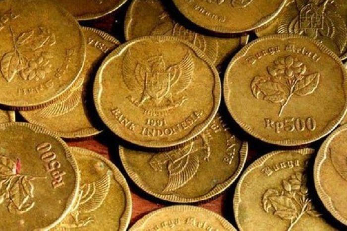 Mendadak jadi rebutan bikers gara-gara harganya tembus Rp 500 juta, bener gak nih uang koin Rp 500 tahun 1991 terbuat dari emas.