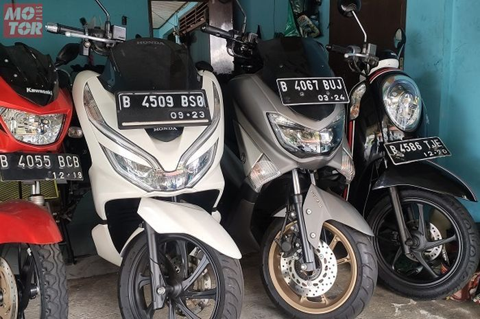Ilustrasi motor bekas. Segini harga motor matic bekas 150 cc akhir Agustus 2020, NMAX cuma dijual segini.