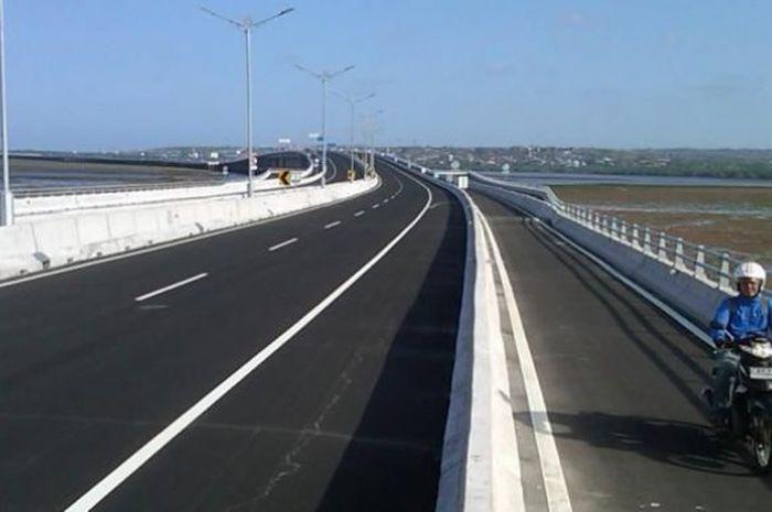 Tol Bali Madara dilengkapi untuk jalur motor