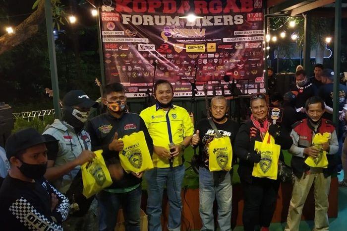 Pecah, Adi Pro sukses gelar Kopdargab bikers edisi perdana, ratusan bikers tumpah di TMII.
