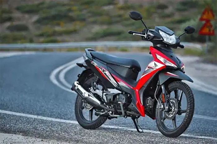 Harga motor baru Honda Supra X 125 di Yunani nyaris tembus Rp 50 juta, ini rahasianya.
