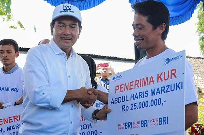 Ilustrasi. Penyaluran KUR (Kredit Usaha Rakyat)