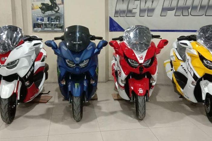 All New NMAX Predator punya banyak pilihan warna di dealer