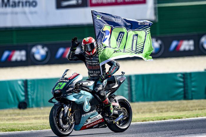 Franco Morbidelli juara MotoGP San Marino 2020