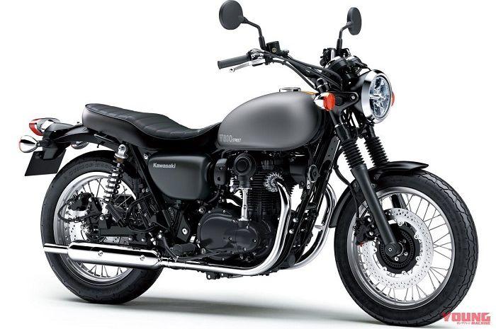 Kawasaki W800 Street 2021 akan meluncur dengan warna baru