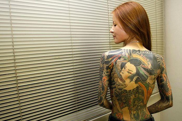 Bikers langsung merinding, kisah Shoko Tendo anak bos Yakuza paling ditakuti di Jepang yang hidupnya malah sengsara.
