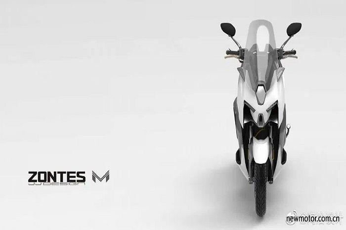 Motor baru saingan Yamaha XMAX bakal meluncur.