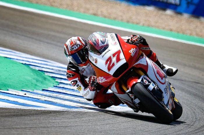 Hasil FP3 Moto2 San Marino 2020, pembalap Indonesia Andi Gilang masih berjuang.