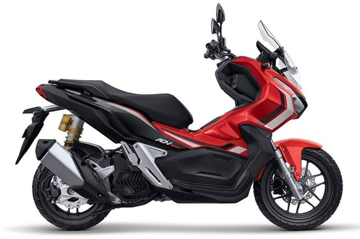 Honda ADV 150 dengan sokbreker Ohlins HO 955 versi Indonesia