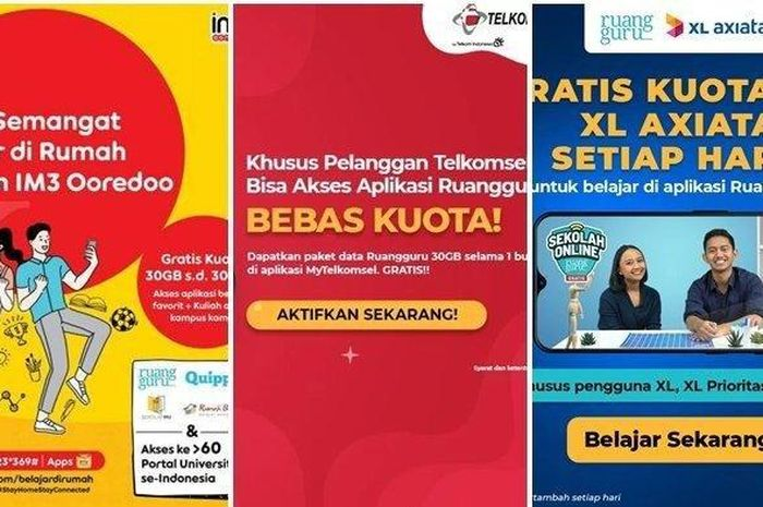 Horeee Sudah Masuk Begini Cara Cek Bantuan Kuota Internet Dari Pemerintah Untuk Semua Provider Semua Halaman Gridmotor Id