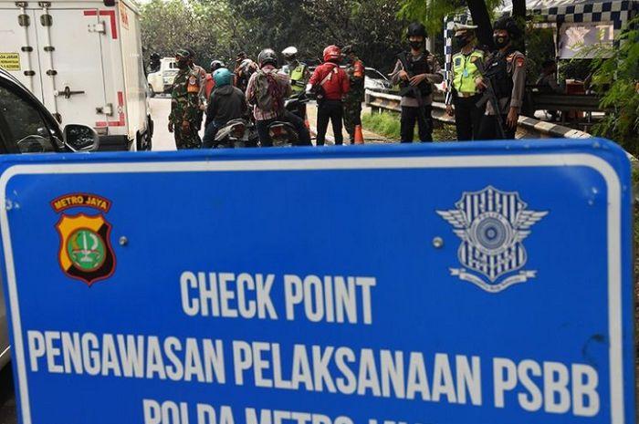 Bikers simak nih, gak perlu lagi SIKM ini persyaratan yang harus dipenuhi warga yang ingin keluar masuk Jakarta.