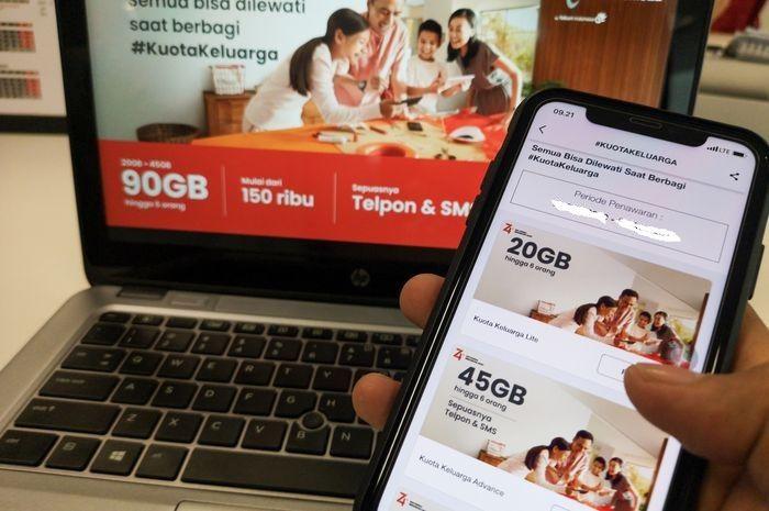 Wih ada subsidi kuota gratis 35 Gb, 42 Gb dan 50 Gb, promo murah meriah Telkomsel paket internet 10 Gb cuma Rp 10.