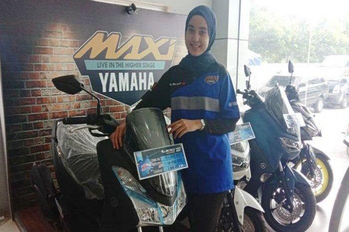 Beli adik Yamaha NMAX, yaitu Lexi bisa bawa pulang sepeda baru, ada diskonnya juga bro!