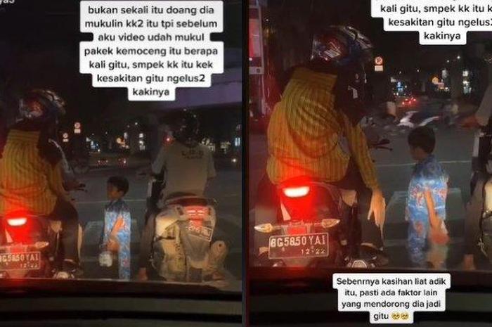 Viral Bocah Pengemis yang Pukul Kaki Pemotor Karena Gak Dikasih Duit, Psikolog Bilang Begini