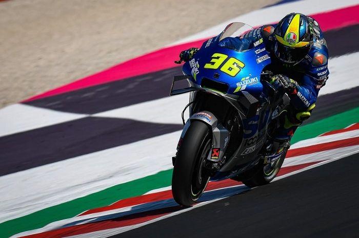 Joan Mir punya hasil bagus di sesi tes MotoGP 2020.