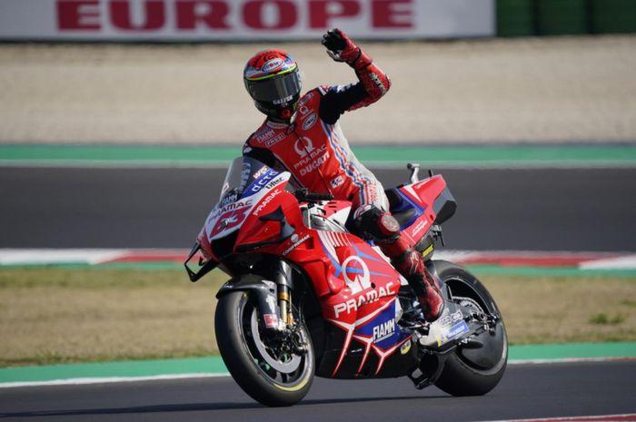 Pole positionnya di MotoGP Emilia Romagna 2020 dibatalkan, murid Valentino Rossi, Francesco Bagnaia mengakui kesalahannya.