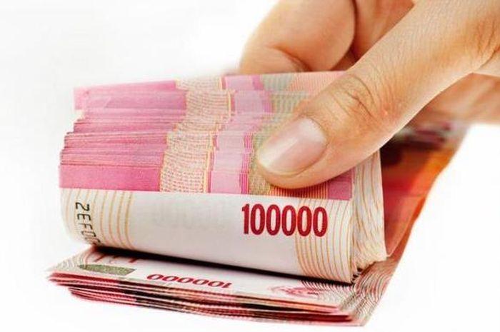 Ilustrasi uang Rp 3,55 juta ditransfer ke rekening tabungan dari bantuan langsung tunai (BLT) pemerintah