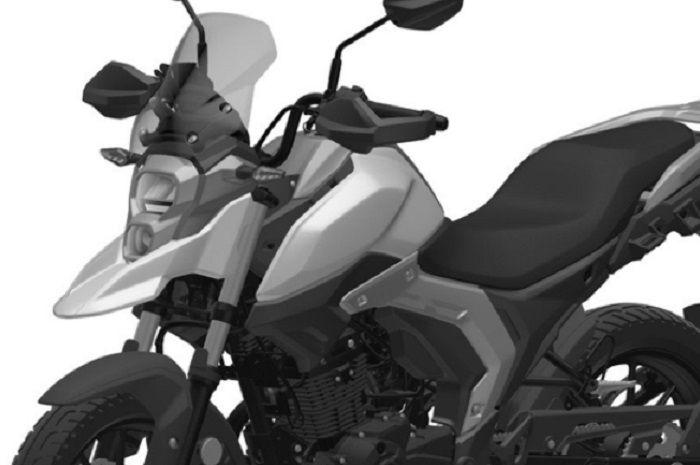 Diam-diam Suzuki tengah menyiapkan motor baru bergenre adventure, tampangnya gahar mesin 150cc.